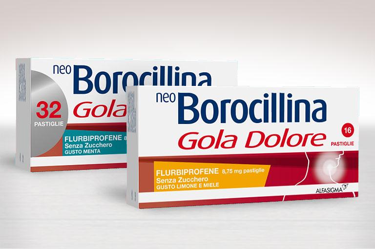 NeoBorocillina Gola dolore Pastiglie
