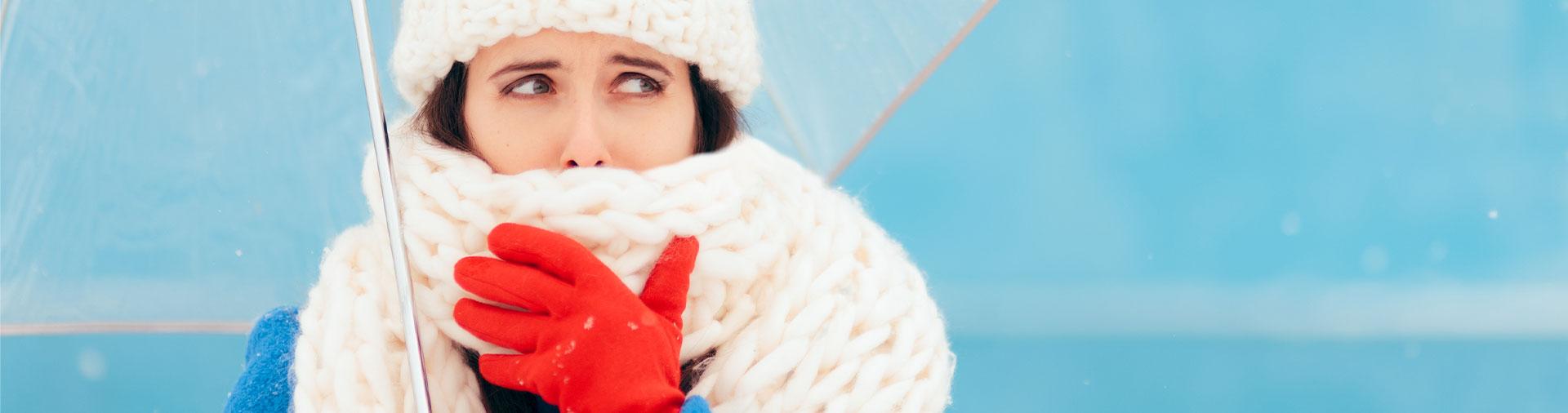 Le patologie invernali: il mal di gola