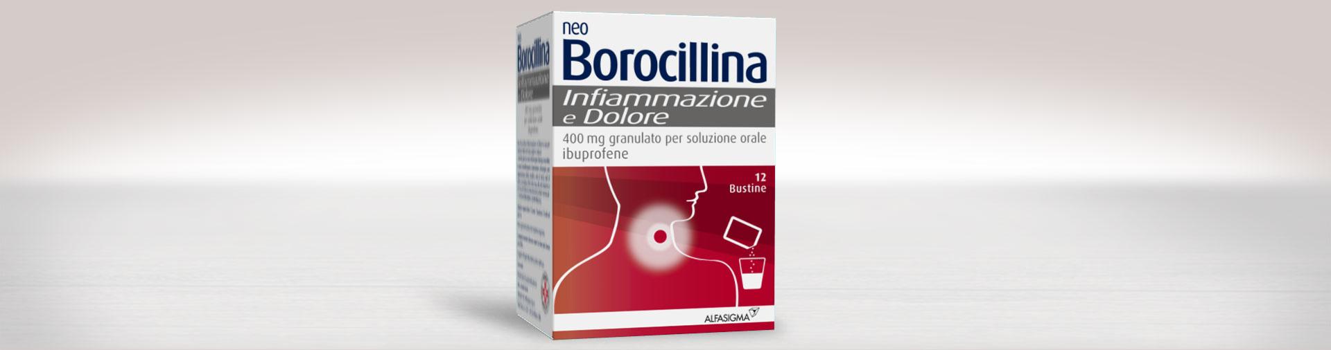 NeoBorocillina Infiammazione e Dolore