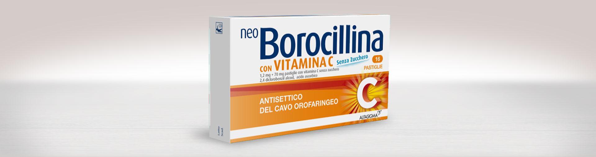NeoBorocillina con Vitamina C