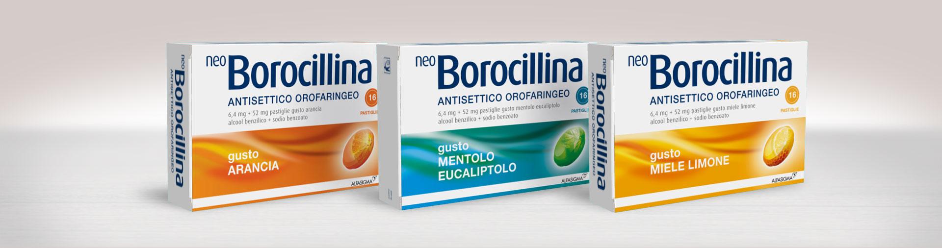 NeoBorocillina Antisettico Orofaringeo